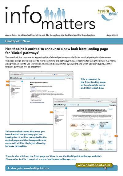 Info Matters – August 2013