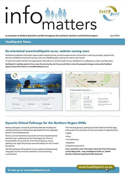 Info Matters – April 2014