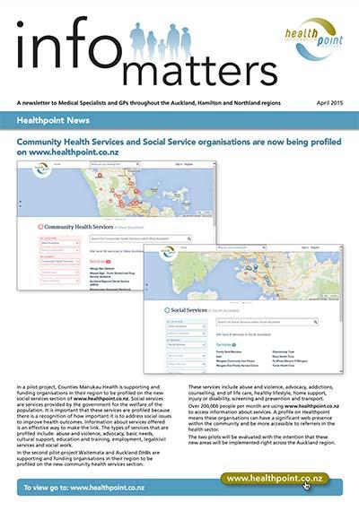 Info Matters – April 2015