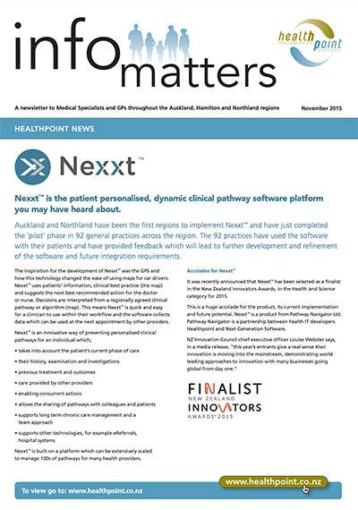 Info Matters – October 2015