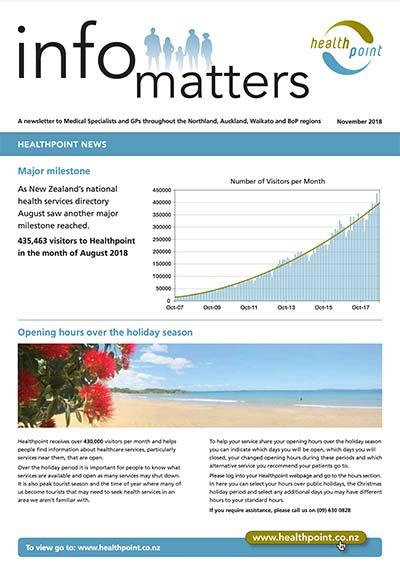 Info Matters – November 2018