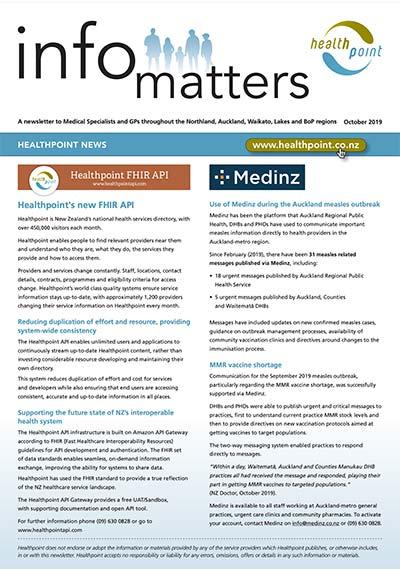 Info Matters – October 2019