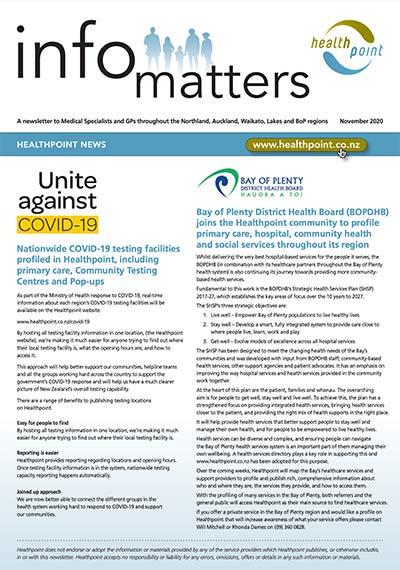 Info Matters – November 2020