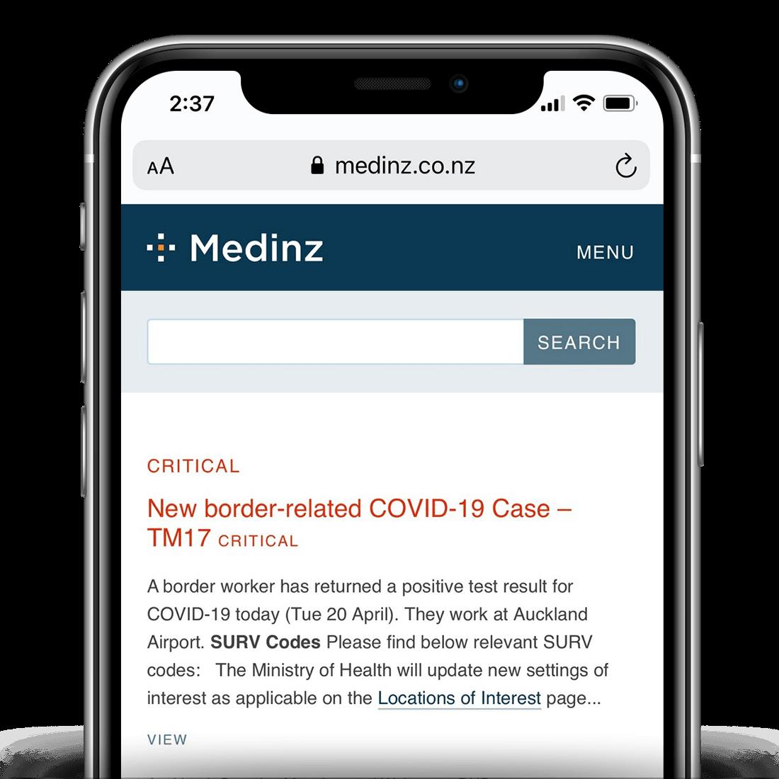 Medinz Dashboard